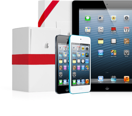 News l Incisione laser gratis su iPod e iPad per Natale.
